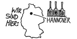 Wir sind hier: Hannover
