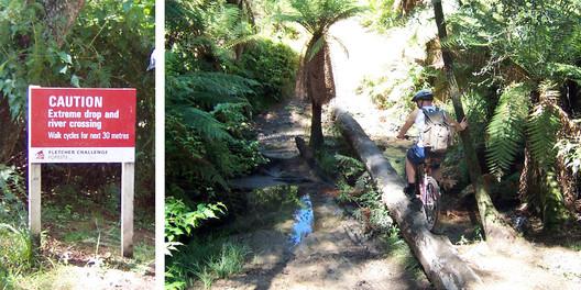 Auf dem Moutain Bike Trail unterwegs