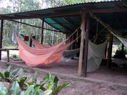 Unser Camp für eine Nacht