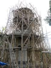 Indonesische Baustelle