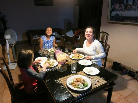 Abendessen von und mit Vera