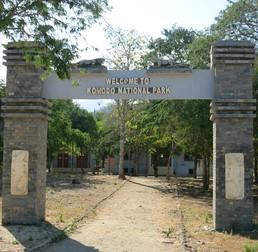 Der Eingang zum National Park