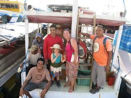 Unsere Crew für die Komodo-Tour