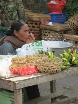 Auf dem Markt in Ubud