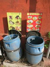 In Ubud soll der Müll getrennt werden