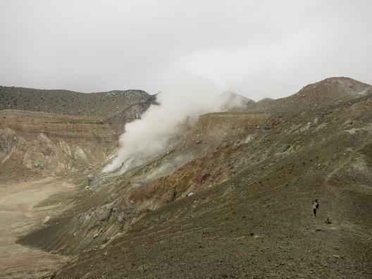 Noch ganz schön aktiv: Mt. Egon