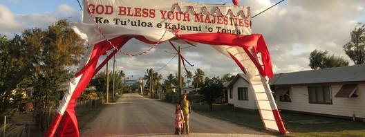 Der König von Tonga kommt