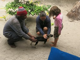 Semi & sein Hund