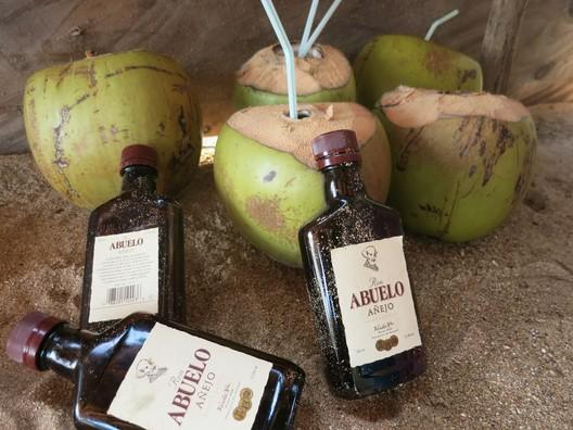 Kokos-Cocktail mit Panama-Rum