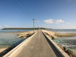 Die Brücke von Lifuka nach Foa