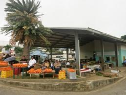 Der Marktplatz in Neiafu