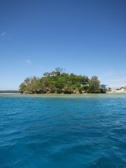 Unsere Seite der Insel Foiata