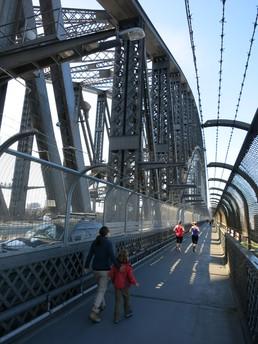 Spaziergang über die Harbour Bridge