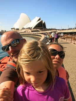 Selfie down under