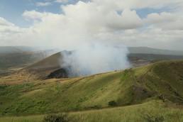 Der Masaya-Vulkan