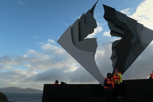 Ein Denkmal für die am Kap Hoorn gestorbenen Seeleute